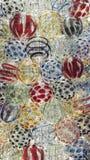 Красочный круглого стекла Стоковое Изображение