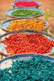 Красочный ладана вставляет на корзинах для естественного засыхания Handma Стоковая Фотография