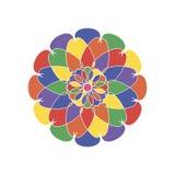 Красочный марокканец кроет орнаменты черепицей Стоковое фото RF