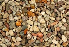 Красочный, малый камень гравия Стоковое фото RF