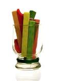 Красочный мел в стекле Стоковая Фотография RF