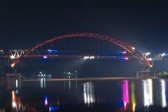 Красочный мост на легкие грузы Стоковые Изображения