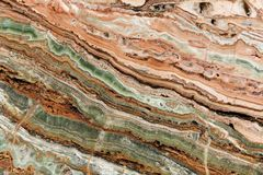 Красочный мраморный камень Стоковые Изображения