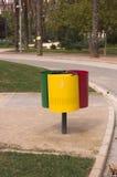 Красочный мусорных корзин Стоковые Фото