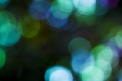 Красочный мягкий круговой верхний слой bokeh Стоковое фото RF