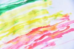 красочный на белой бумаге для предпосылки Стоковые Изображения RF