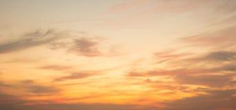 Красочный неба захода солнца для вашей предпосылки Стоковые Фото