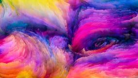 Красочный обрабатывать краски Стоковое Изображение