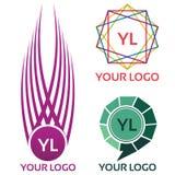 Красочный логотип общины Стоковое Фото