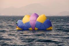 Красочный парашют Стоковое Изображение