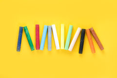 Красочный пастельный crayon Стоковые Фото