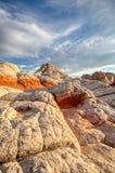 Красочный песчаник делает по образцу северную Аризону и южную Юту стоковая фотография