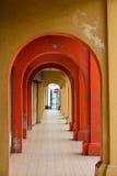 Красочный покрытый сдобренный тротуар Стоковые Изображения RF