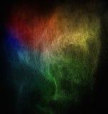 Красочный порошок взрывая стоковые фотографии rf