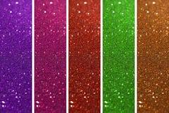 Красочный предпосылки яркого блеска Стоковые Фотографии RF