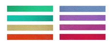 Красочный пластичного деревянного собрания Стоковое Изображение RF