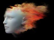 Красочный разум Стоковое фото RF
