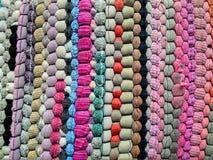 Красочный розничный ковер Стоковая Фотография
