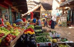 Красочный рынок в Akko, Израиле Стоковые Изображения