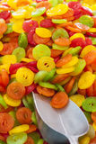 Красочный рынок candys Стоковое Изображение