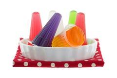 Красочный сортированный студень каррагинана с fruity вкусами в малом Стоковые Изображения RF