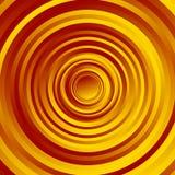 Красочный спирально объезжайте картину Вращая круги с градиентом Стоковое фото RF