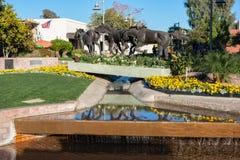 Красочный старый городок Scottsdale стоковые изображения rf