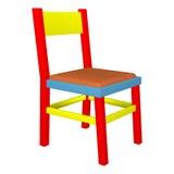 Красочный стул ребенка Стоковые Изображения