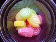 Красочный сладостный студень Стоковое фото RF