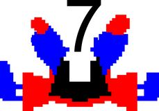 Красочный танцуя компьютер предпосылки конспекта номера произвел изображение и дизайн обоев иллюстрация вектора