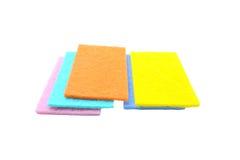 Красочный уборщика кухни губок Стоковые Фото