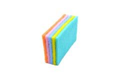 Красочный уборщика кухни губок Стоковая Фотография RF