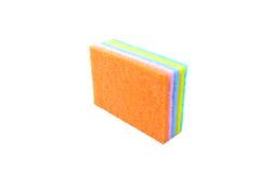 Красочный уборщика кухни губок Стоковое Фото