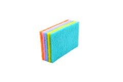 Красочный уборщика кухни губок Стоковое Изображение RF