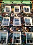 Красочный фасад, Дублин, Ирландия стоковое фото