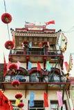 Красочный Чайна-таун в Сан-Франциско, Калифорния стоковое фото