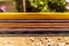 Красочный, шерсти альпаки, Перу Стоковые Изображения RF