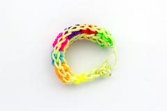 Красочный эластичных диапазонов тени радуги Стоковая Фотография RF