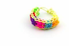 Красочный эластичных диапазонов тени радуги Стоковое Изображение RF