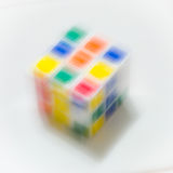 Красочный fo кубический Стоковое Изображение