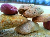 Красочный gallstone Стоковые Изображения RF