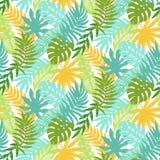 Красочный hawaiian засаживает безшовную картину Стоковые Фотографии RF