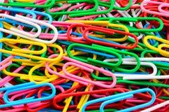 Красочный paperclip Стоковые Фотографии RF