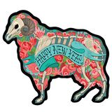 Красочный Ram Стоковое Фото