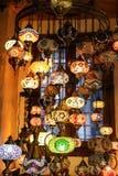 Красочный Turkish Laterns Стоковые Изображения RF
