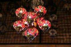 Красочный Turkish Laterns Стоковая Фотография RF