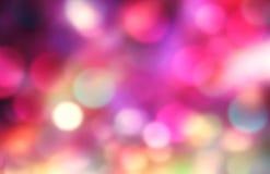 Красочным предпосылка валентинок запачканная праздником Фон дня рождения Стоковая Фотография