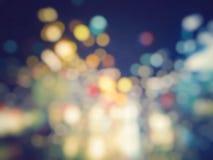Красочным светлым предпосылка запачканная bokeh Стоковое Фото