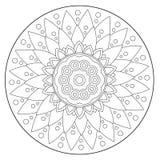 Крася геометрический флористический орнамент бесплатная иллюстрация