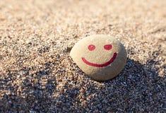 крася камень усмешки стоковые фотографии rf